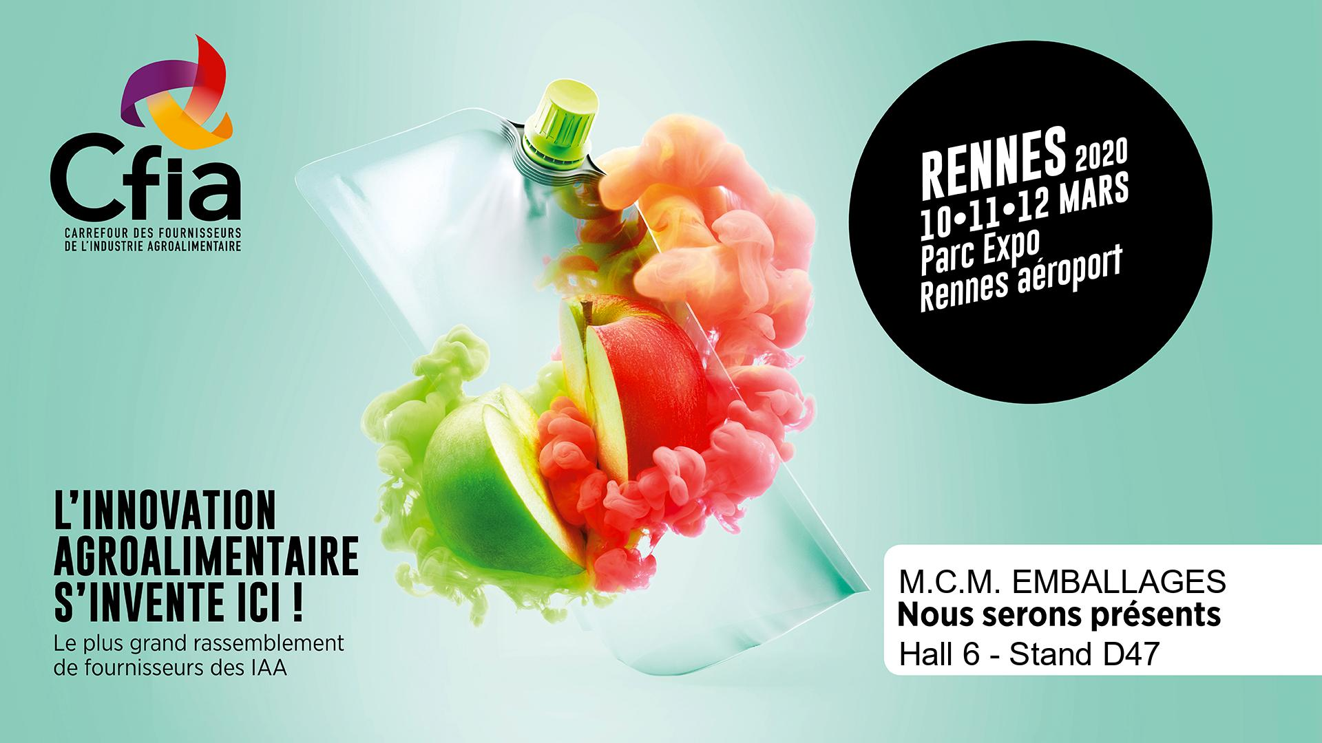 Salon CFIA Rennes MCM Emballages
