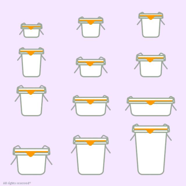 Bocaux en verre weck droits d potables mcm emballages weck france - Sterilisation plats cuisines bocaux ...
